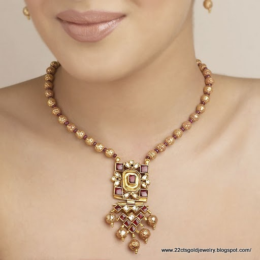 jewellery necklace facebook anithagoldjewellery light media weighted anitha home gold id