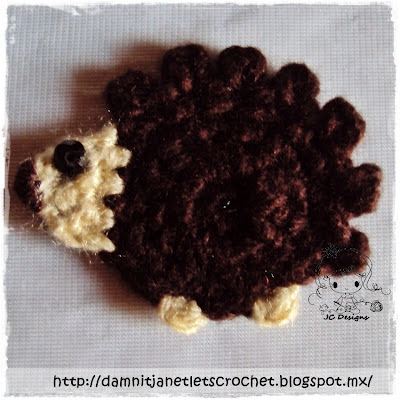 Hedgehog applique