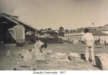 ESTAÇÃO FERROVIARIA EM 1917