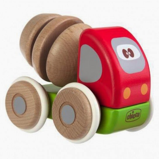 Chicco betoniera wood