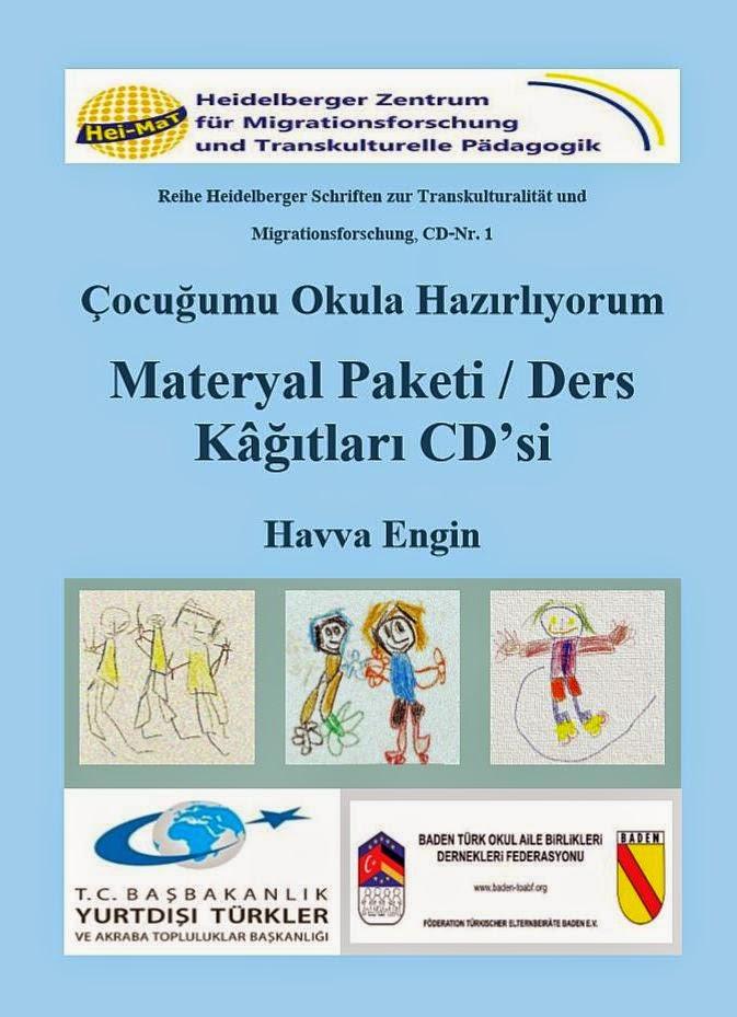 Çocuğumu Okula Hazırlıyorum – Materyal Paketi / Ders Kâğıtları CD'si