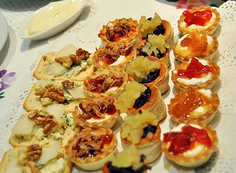 Mis recetas com aperitivos y canap s for Canape catering singapore