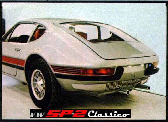 Primeira aparição do Volkswagen SP2