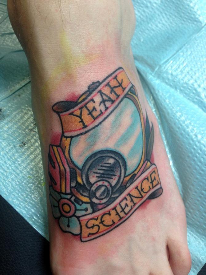 50 Tatuagens Geeks