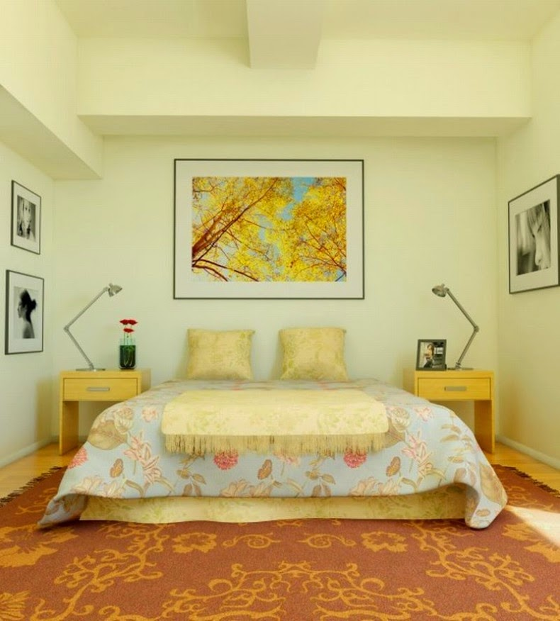 beautiful decorating a yellow bedroom images - amazing home design