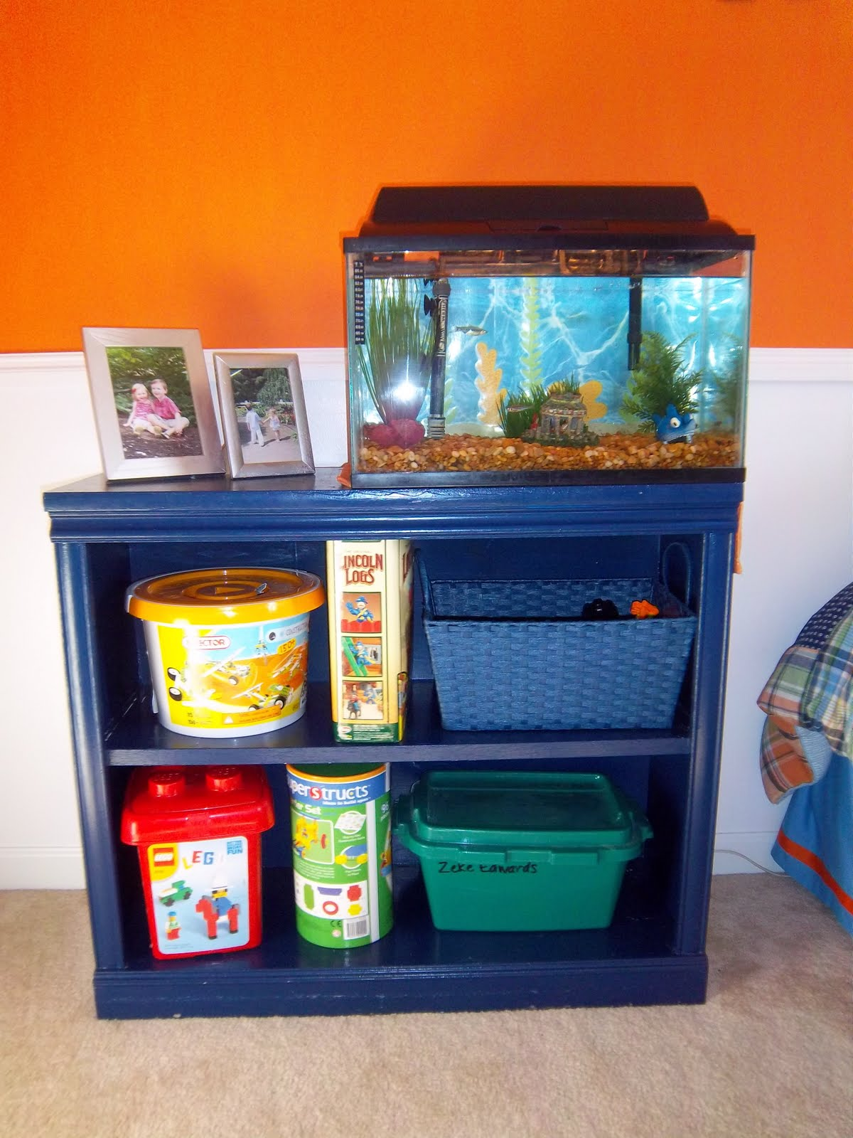Designed To Dwell Bookshelf Turned Dresser