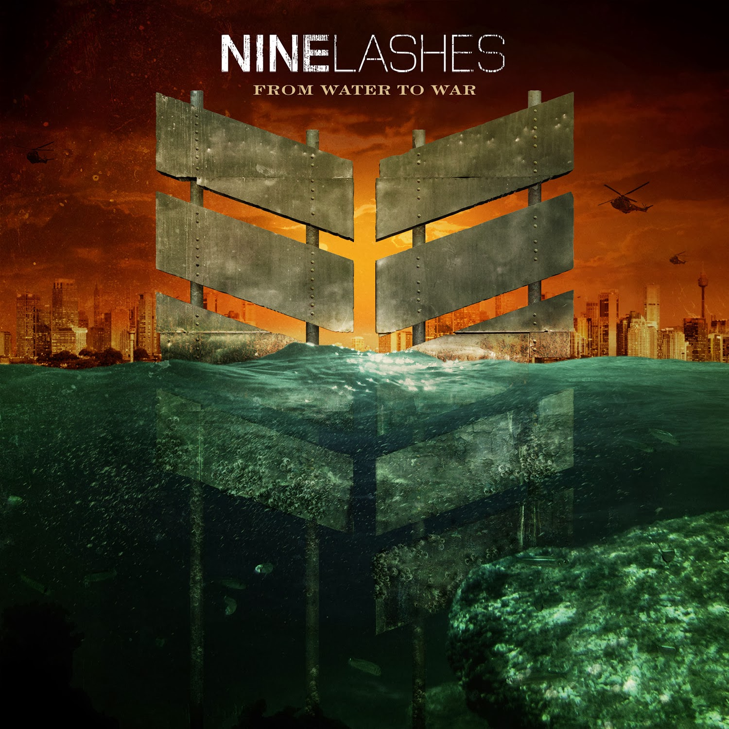 Nine Lashes - From Water to War 2014 English Christian Album Download