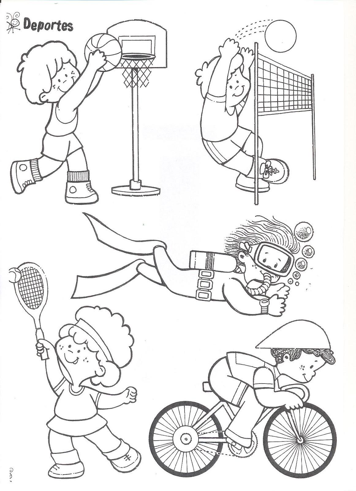 Atractivo Páginas Olímpicas Para Colorear Para Niños En Edad ...
