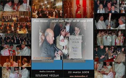 Come eravamo... videoclip fotografico del Sabato Santo - la Veglia  22 marzo 2008