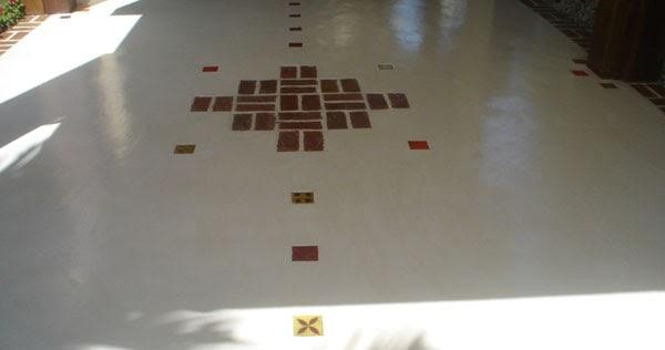 Piso de cimento queimado  Casa,Quintal,Etc & Tal