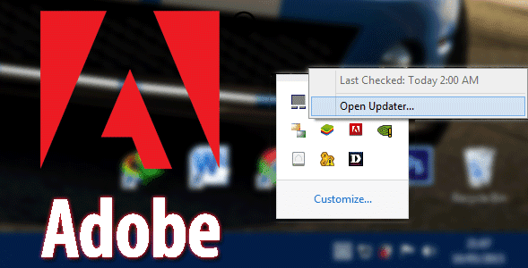 Cara Mematikan Adobe Application Updates