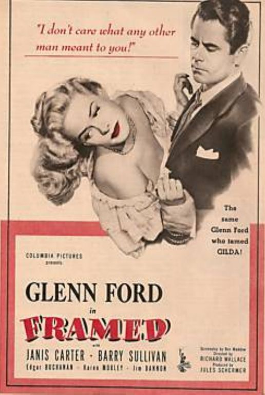 Lauras Miscellaneous Musings Tonights Movie Framed 1947 At The