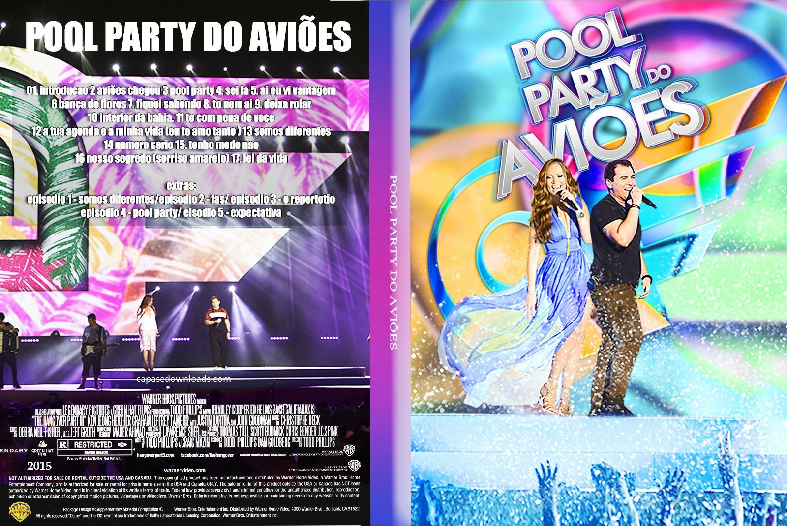 Download Aviões do Forró Pool Party do Aviões Ao Vivo DVDRip XviD 2015 avioees
