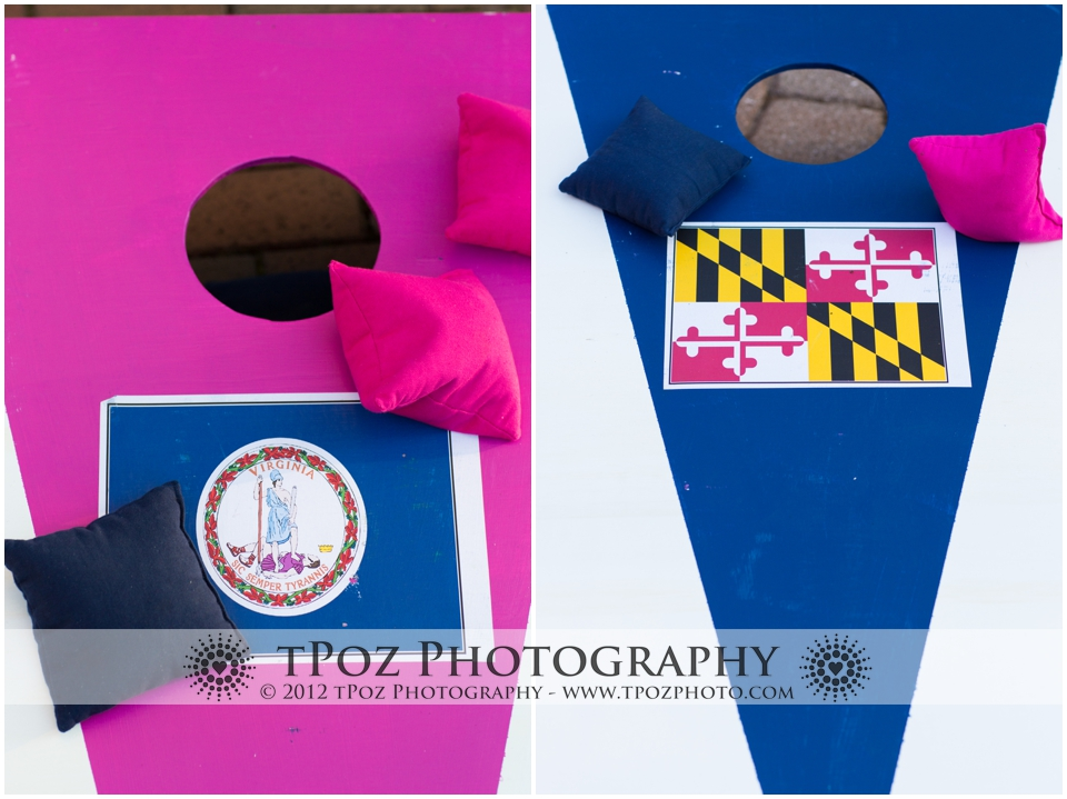 Maryland Virginia Cornhole Game