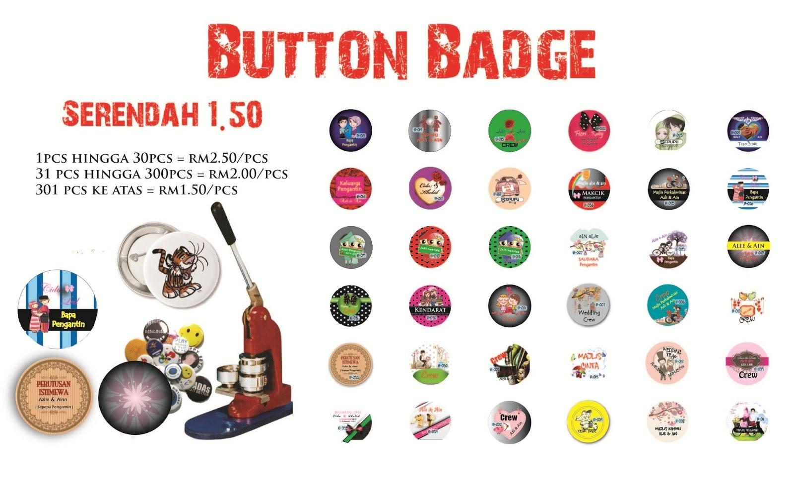 Button Badge Design button badge