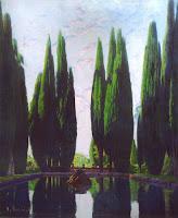 SANTIAGO RUSIÑOL Lago de Villa Falconieri - 1923