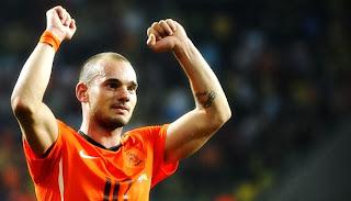 Galatasaray tak Jual Sneijder