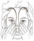 reflexologia en la nariz
