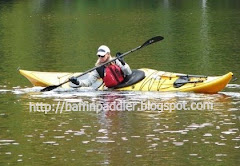 BaffinPaddler in the Boreal Baffin sea kayak on the Madawaska River, Ontario, Canada