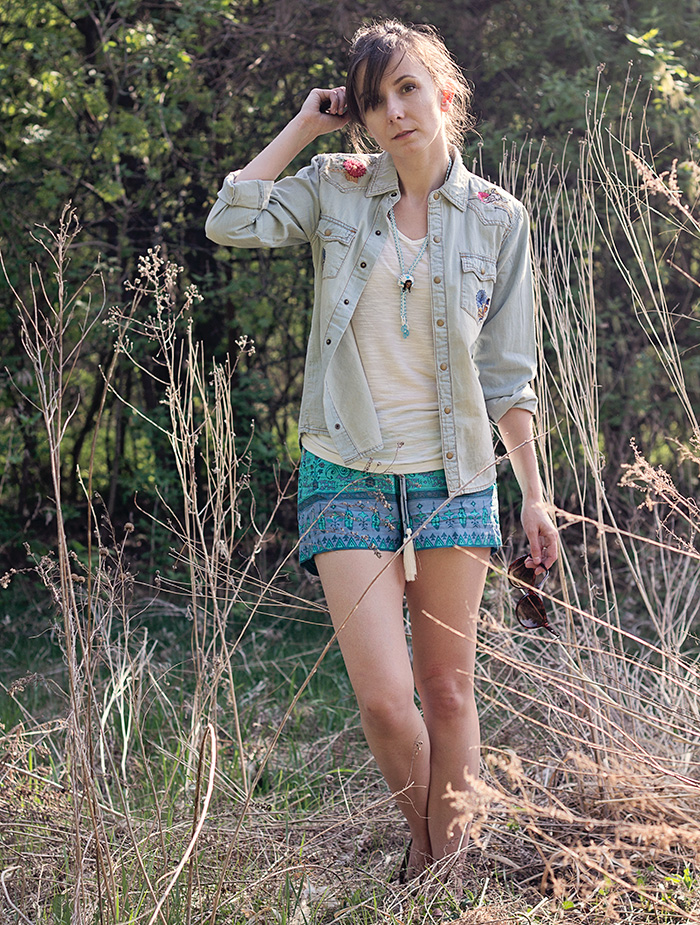 Spell-Designs-Shorts-Denim-Shirt-Boho