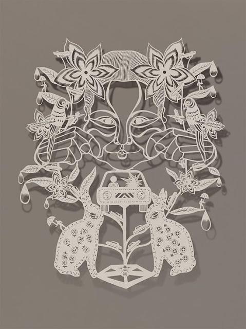 Paper Cut-Out Art