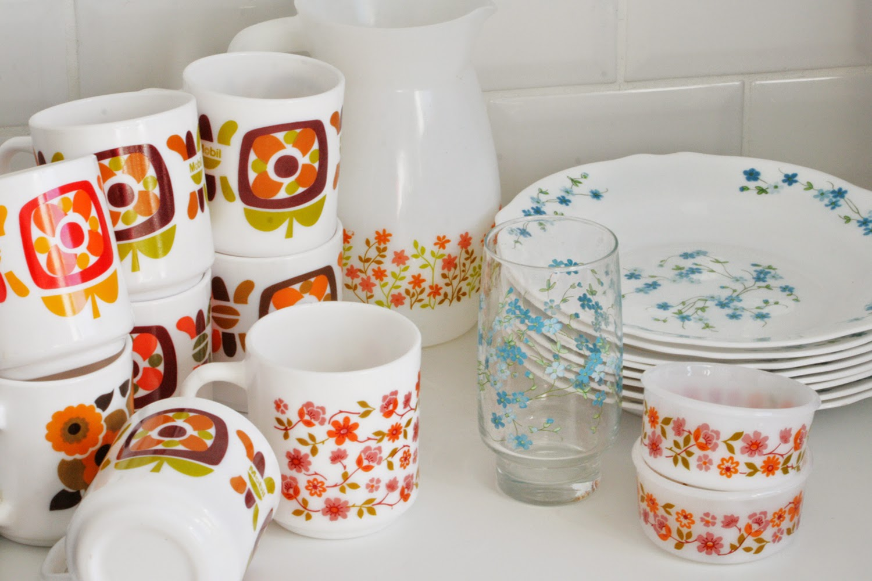 Vaisselle Arcopal Vintage