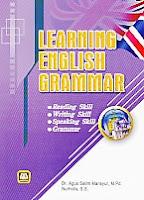 toko buku rahma: buku LEARNING ENGLISH GRAMMAR, pengarang agus salim mansyur, penerbit pustaka setia