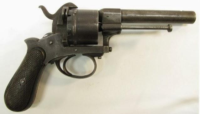 Belgian Pin Fire Pistol