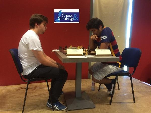 Ider Borya avait annulé avec les Noirs face à Christophe Sochacki lors de la ronde 8 de l'Open A de Dieppe - Photo © Chess & Strategy