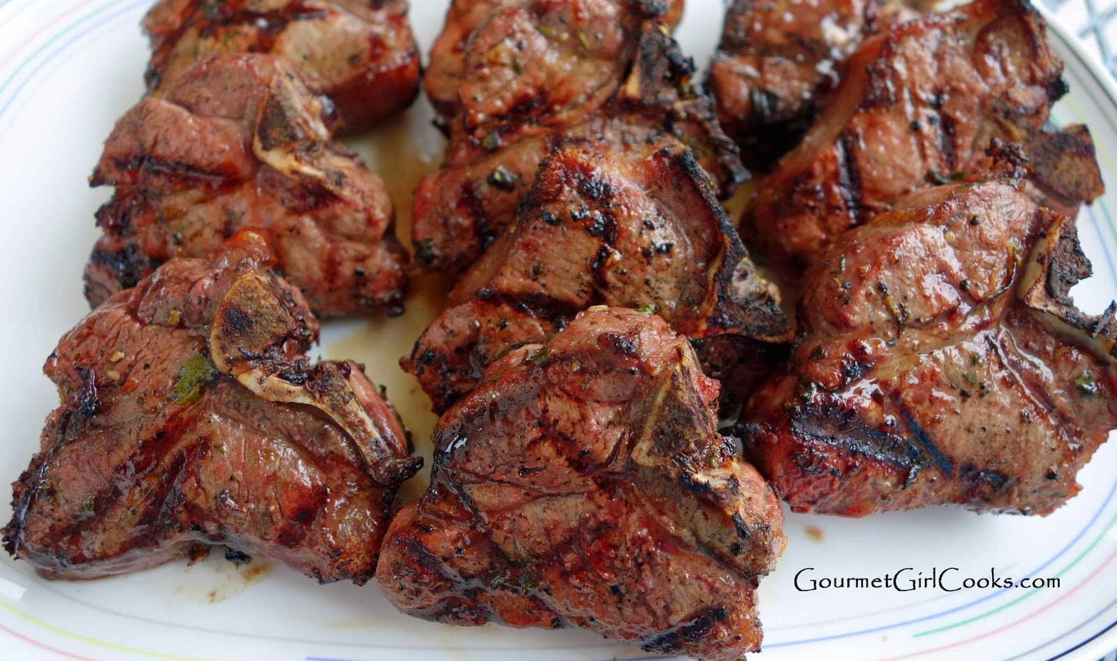 Marinated Lamb Chops Recipe — Dishmaps