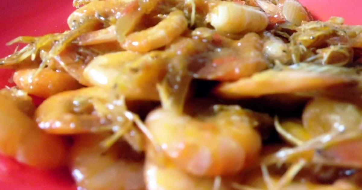 resep tumis udang saus sambal   resep aneka masakan