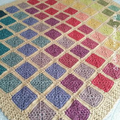 Batik Rainbow Blanket