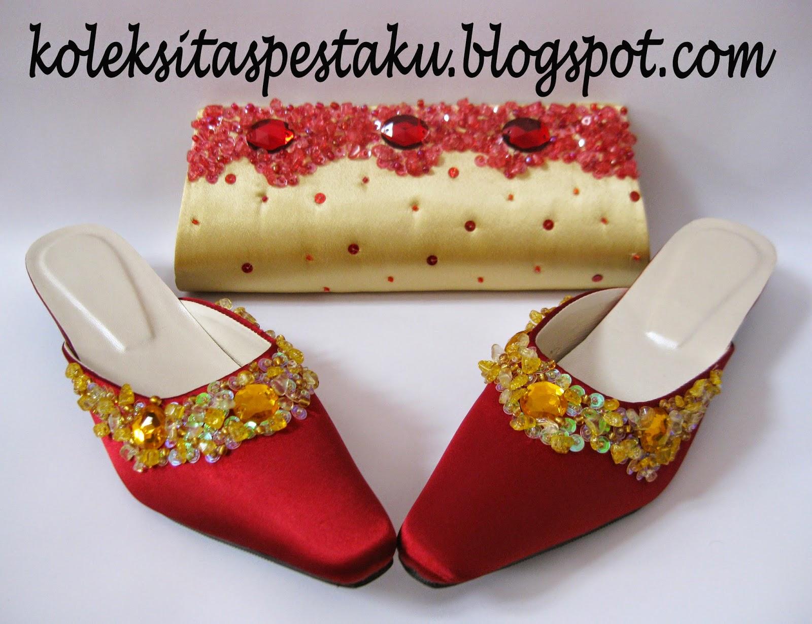 Slop Sepatu Pesta Model Terbaru Koleksi Tas Pesta
