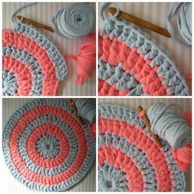 Patrones trapillo tutorial como hacer una alfombra de trapillo - Tutorial alfombra trapillo ...