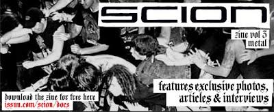 Scion Metal Zine Vol. 3