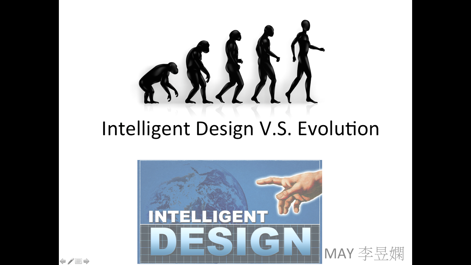 evolution vs intelligent design Special report evolution & intelligent design : part 1 (this page) an ambiguous assault on evolution this trojan horse for creationism has become very popular.