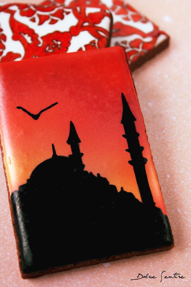 Un país en una galleta: Turquía DOLCE SENTIRE GALLETAS DECORADAS