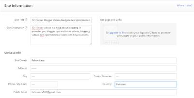 how to verify blogger blog with alexa