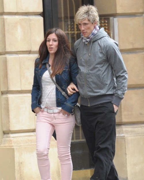 Sports Stars: Fernando Torres With His Wife Olalla And ...