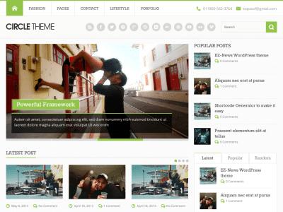 Circle LITE WordPress Theme