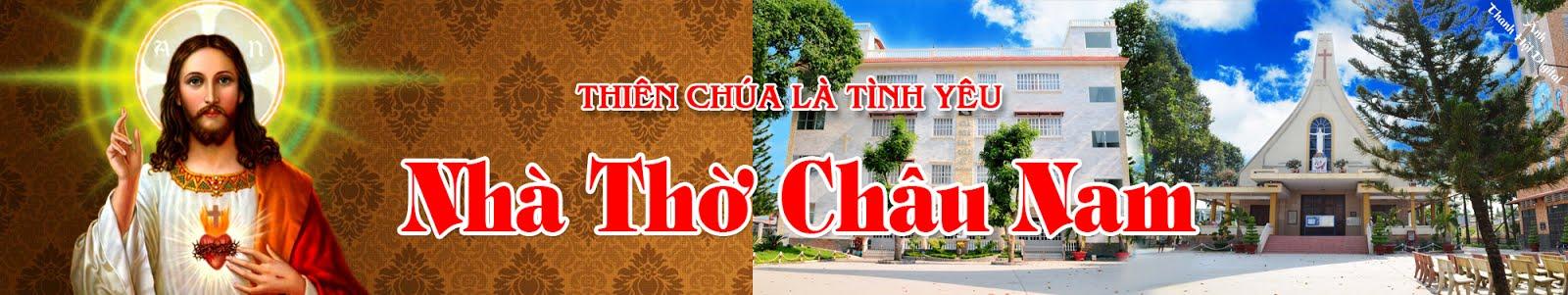 Website Nhà Thờ Châu Nam