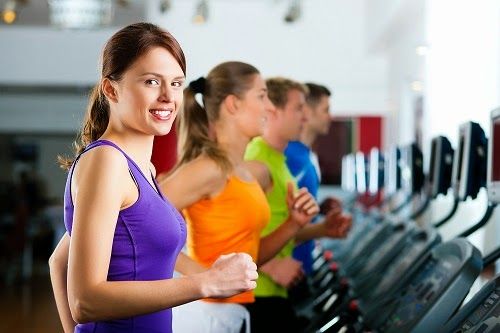 Phòng tập gym Fitness hiện đại Park View