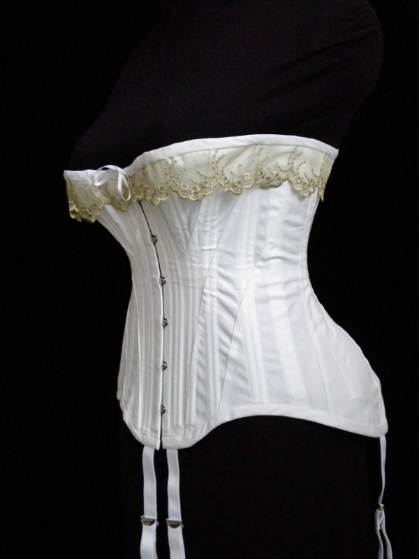 Farthingales Corset blog: New Corset Copied from a Vintage One