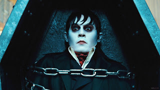 Vampire Johnny Depp in Coffin Dark Shadows Movie 2012 HD Wallpaper