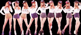 PNG's Girls' Generation - I Got a Boy