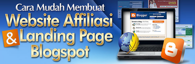Membuat Landing Page Blog Untuk Website Afiliasi