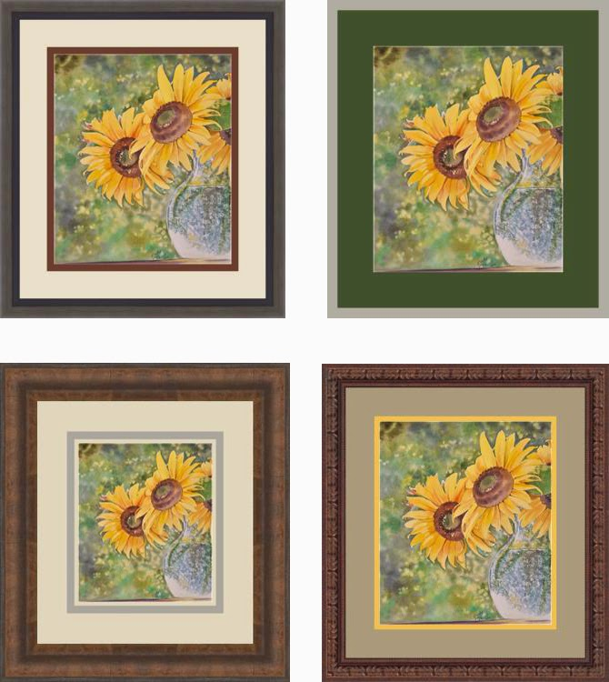 Picture Framing Blog A Good Frame Of Mind Using Color In Framing