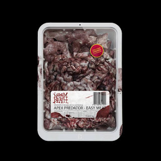 Napalm Death - Apex Predator – Easy Meat - album - cover