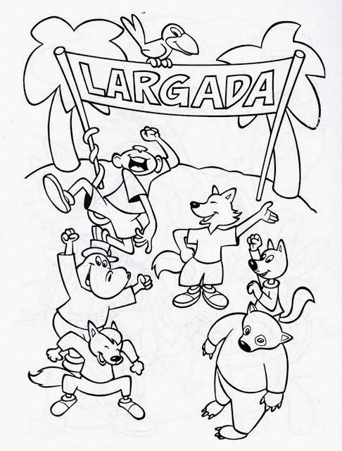Dibujos para colorear. Maestra de Infantil y Primaria.: La tortuga y ...
