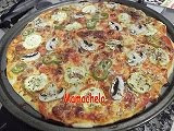PIZZA DE ANCHOAS Y COSITAS SANAS